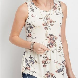 Maurices NWT babydoll tank size large